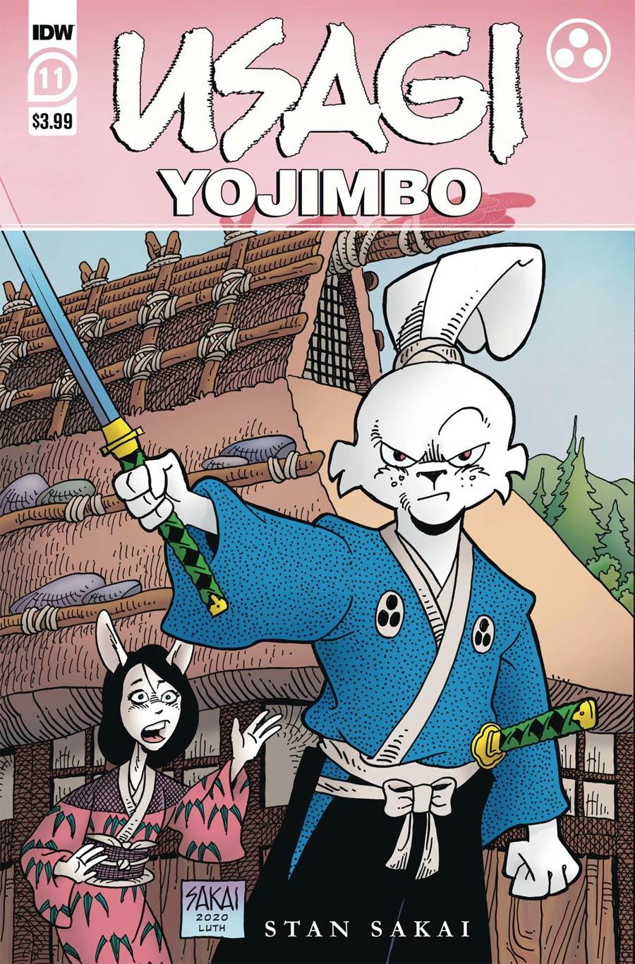 Usagi Yojimbo #11 (2020)