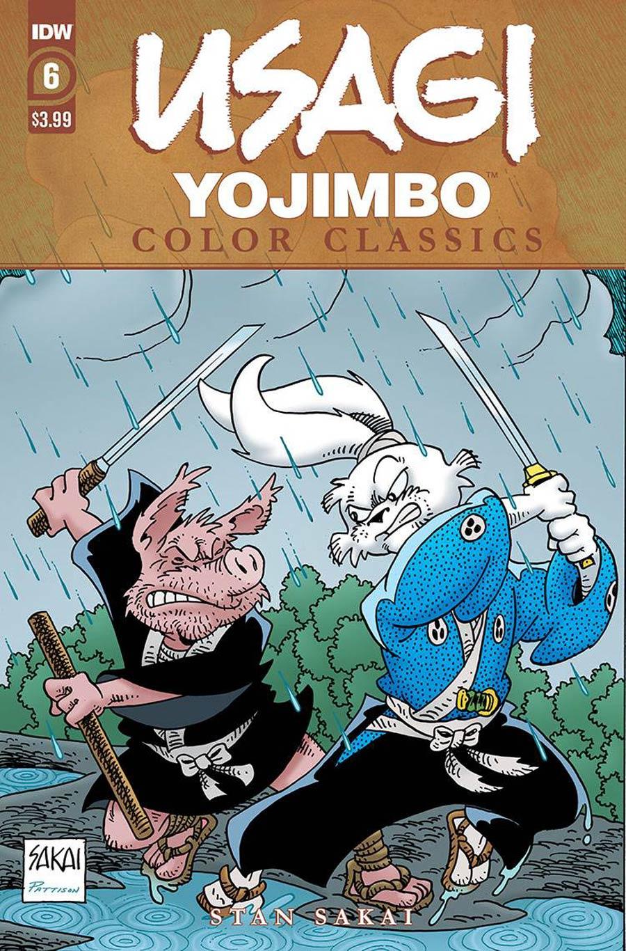 Usagi Yojimbo: Color Classics #6 (2020)