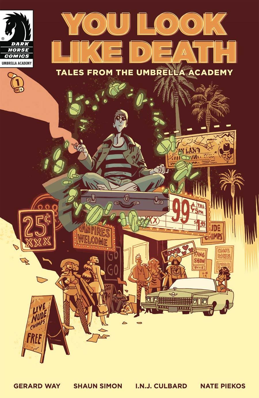 You Look Like Death Tales Umbrella Academy #1 (2020)