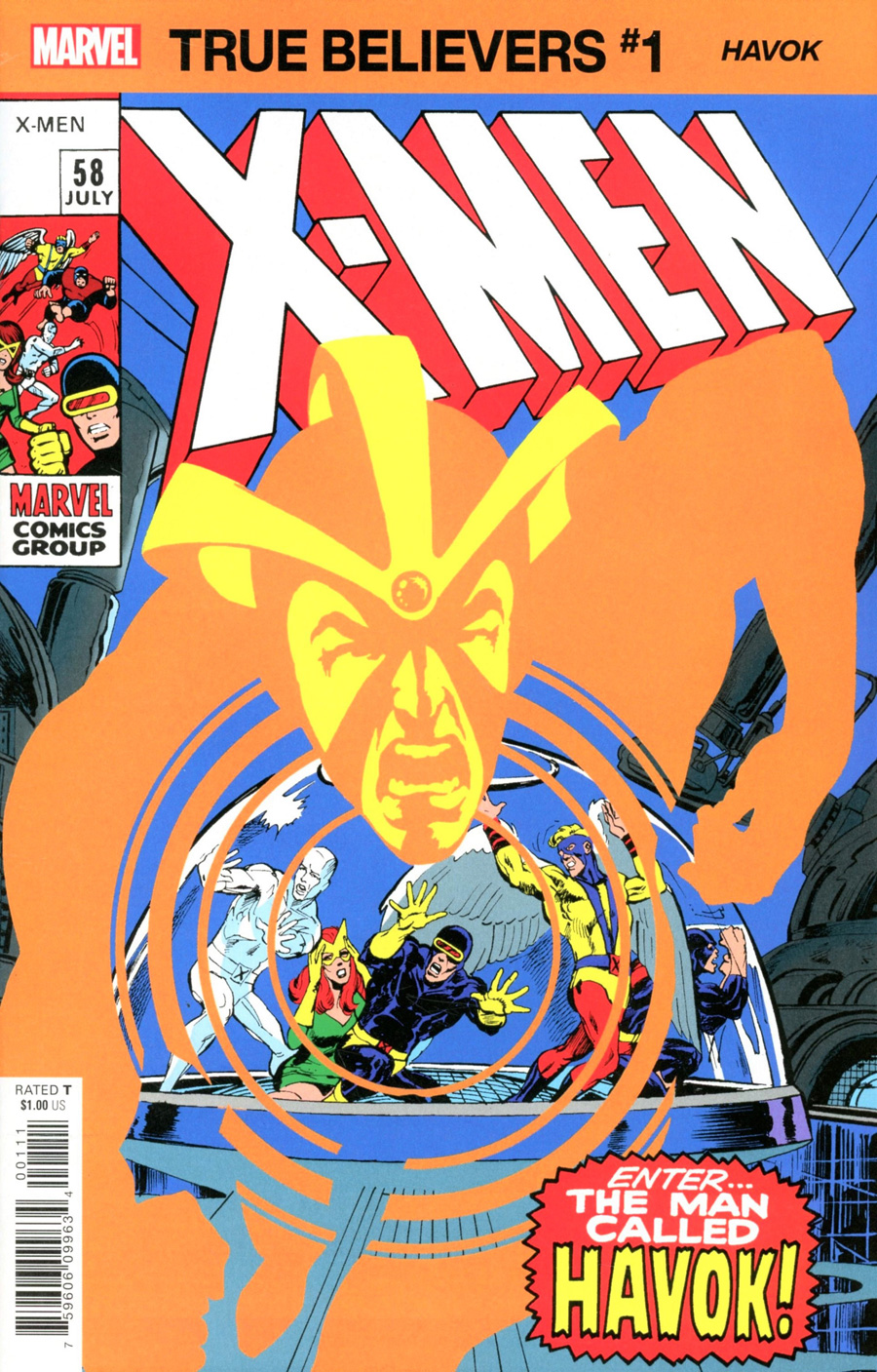 True Believers: X-Men - Havok #1