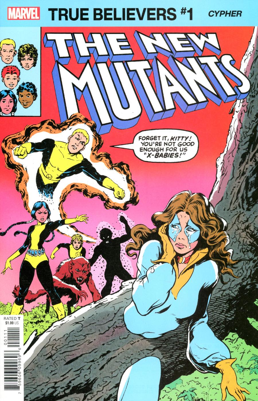 True Believers: X-Men - Cypher #1 (2020)