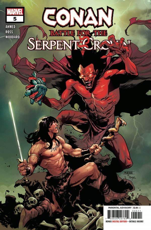 Conan: Battle For Serpent Crown #5 (2020)