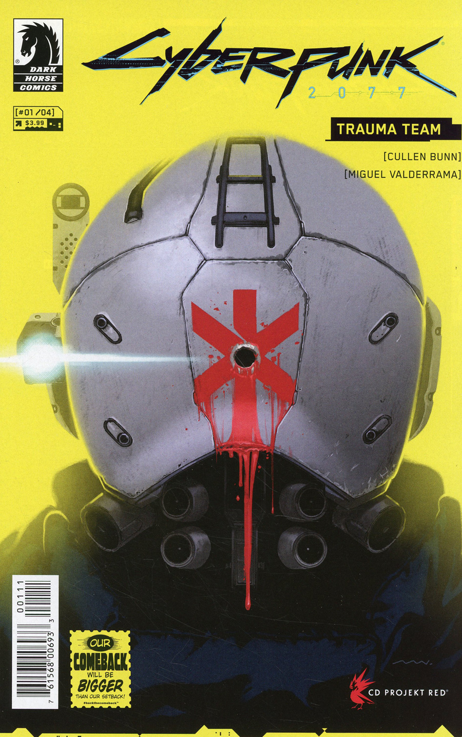 Cyberpunk 2077: Trauma Team #1 (2020)