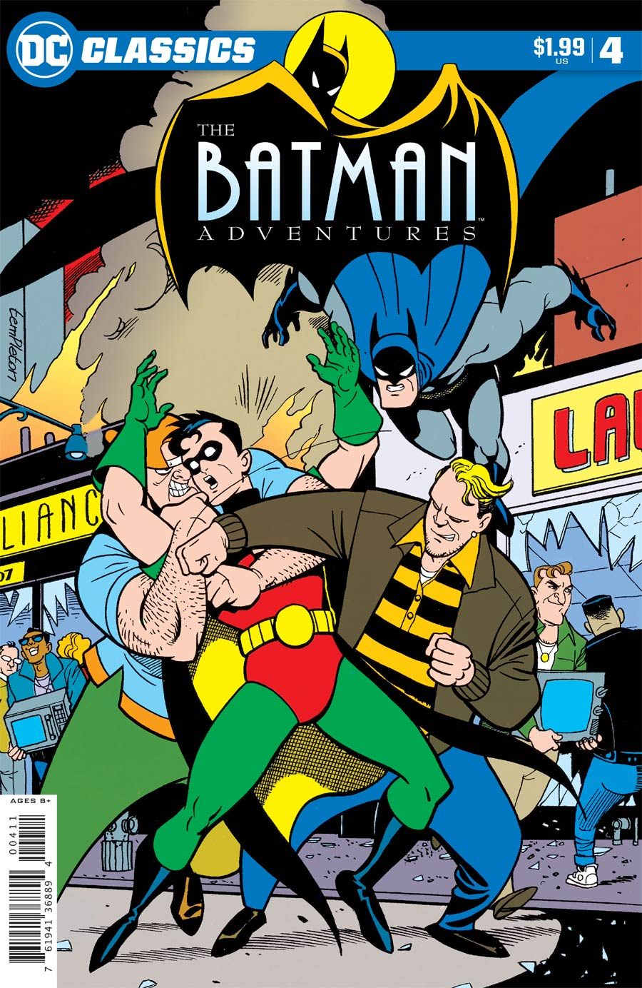 DC Classics: Batman Adventures #4 (2020)