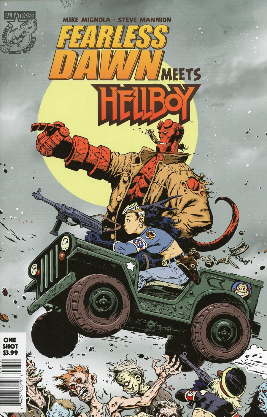 Fearless Dawn Meets Hellboy ( One Shot) #1 (2020)