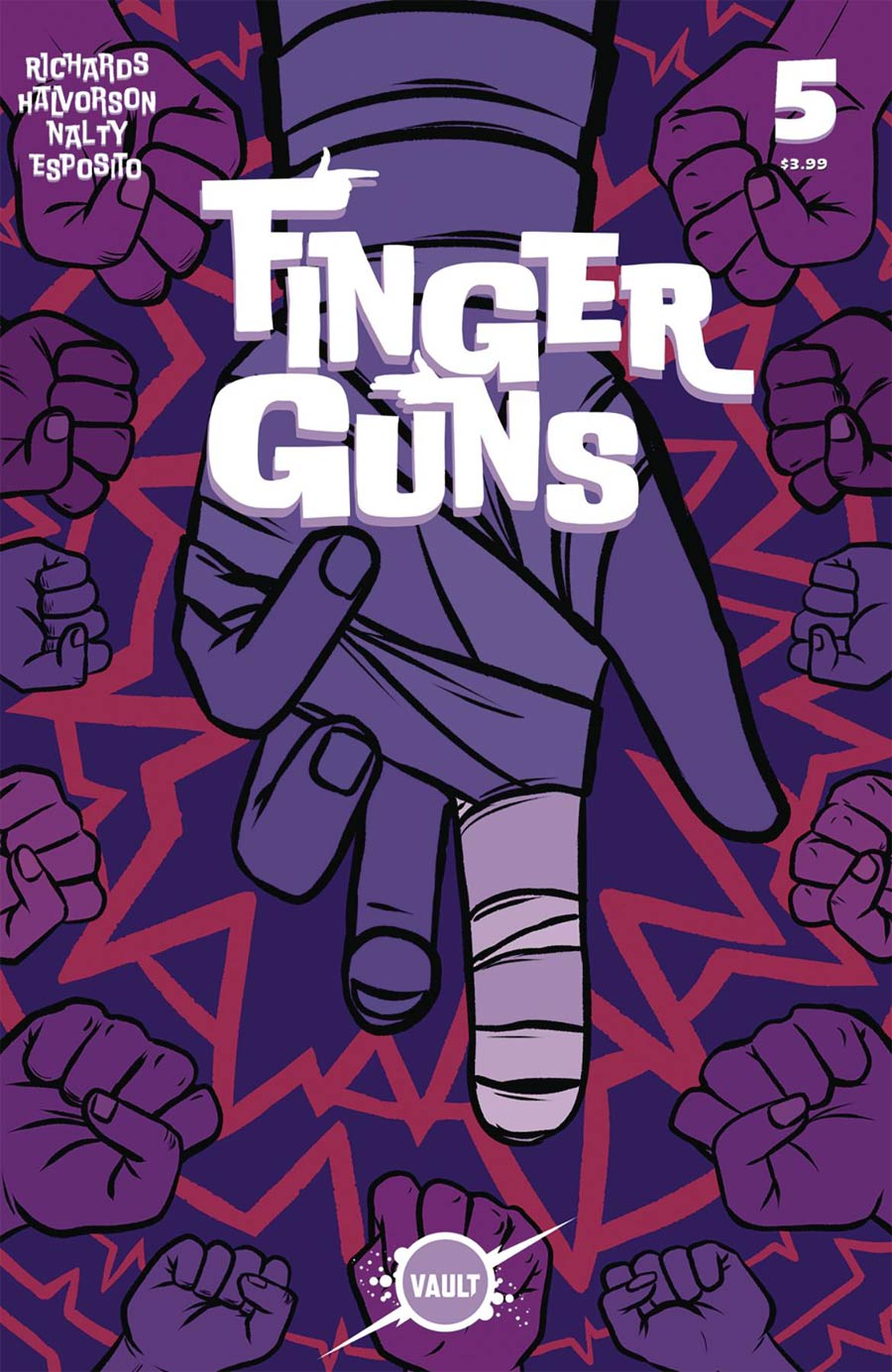 Finger Guns #5 (2020)