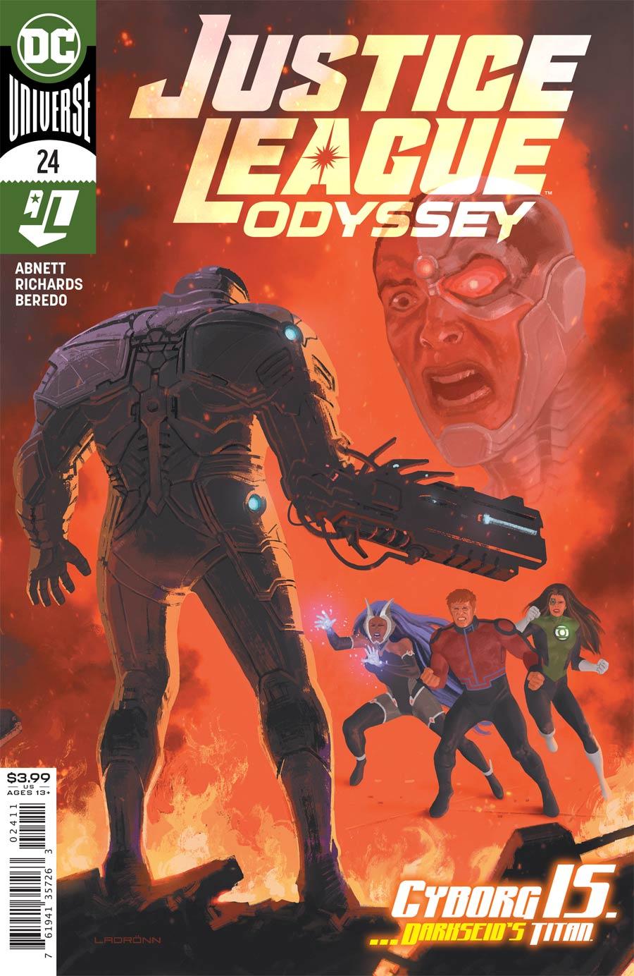 Justice League Odyssey #24 (2020)