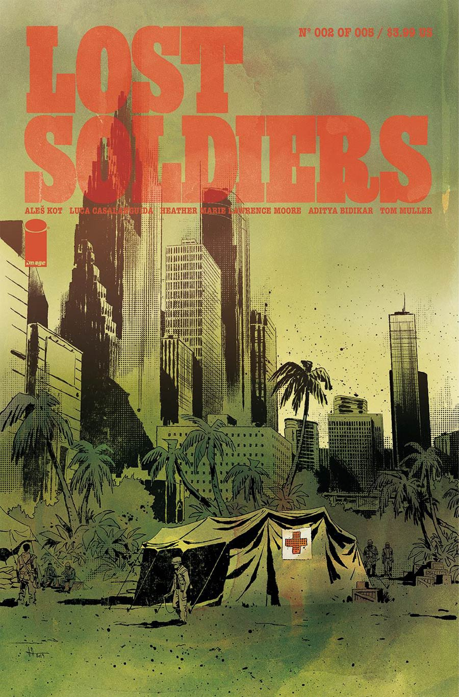 Lost Soldiers #2 (2020)