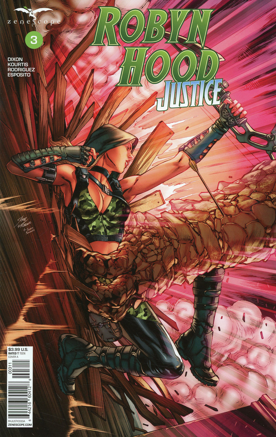 Robyn Hood: Justice #3 (2020)