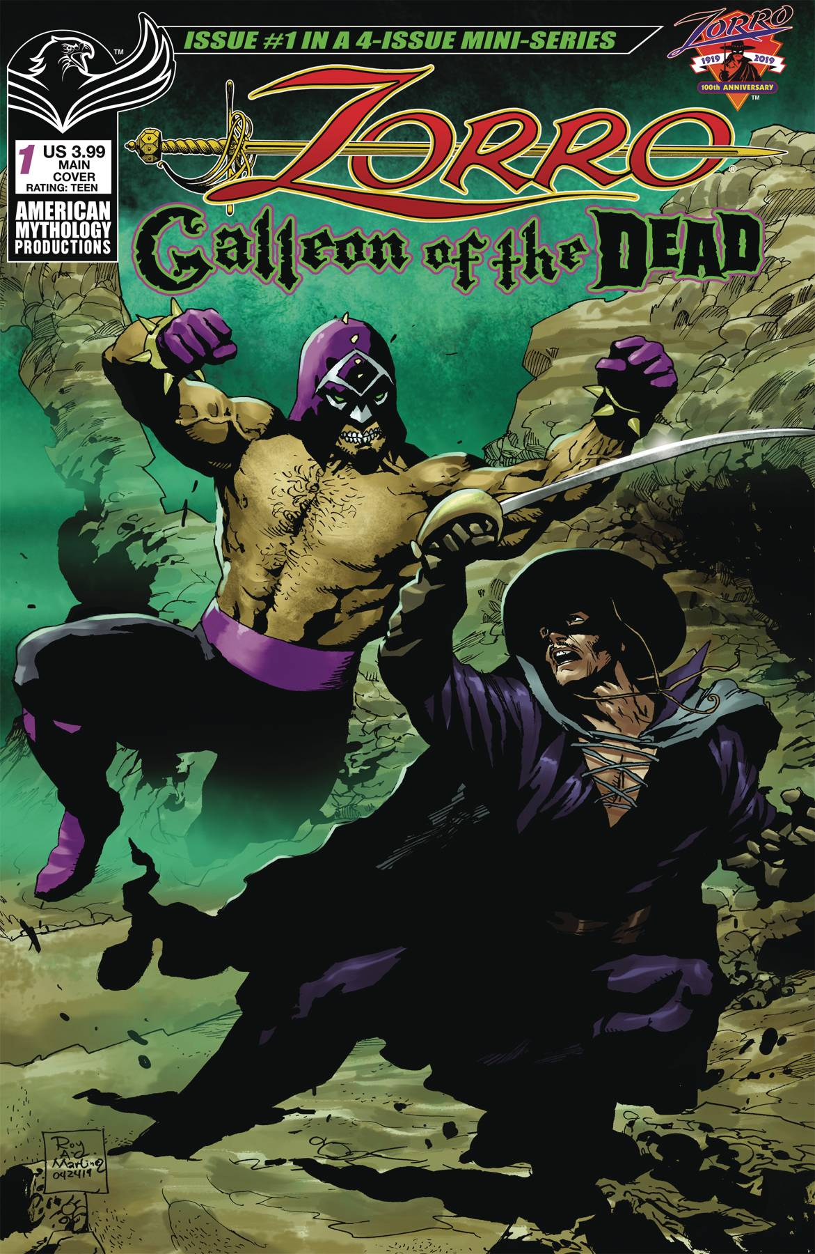 Zorro: Galleon Of Dead #1 (2020)