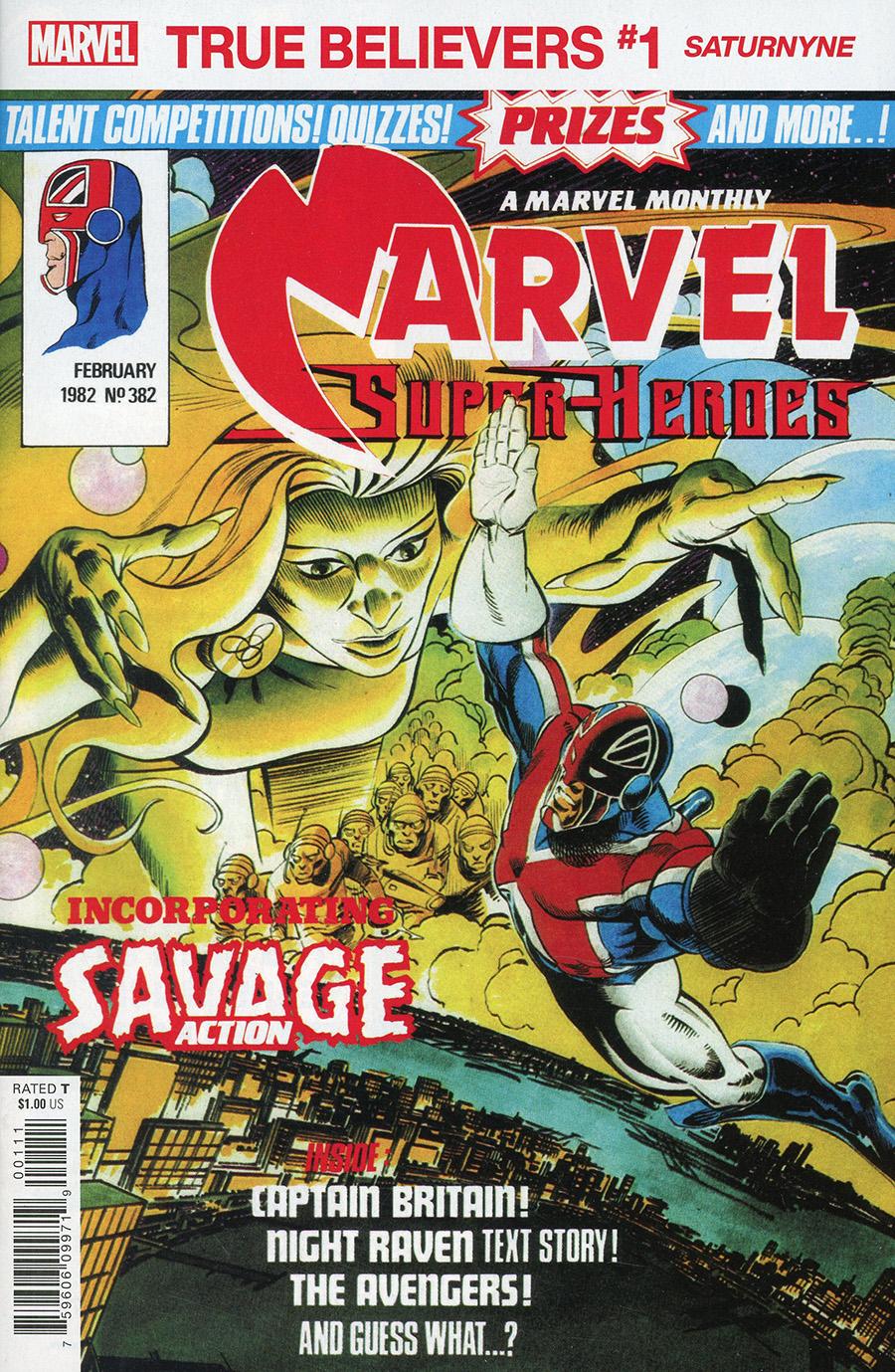 True Believers: X-Men - Saturnyne #1