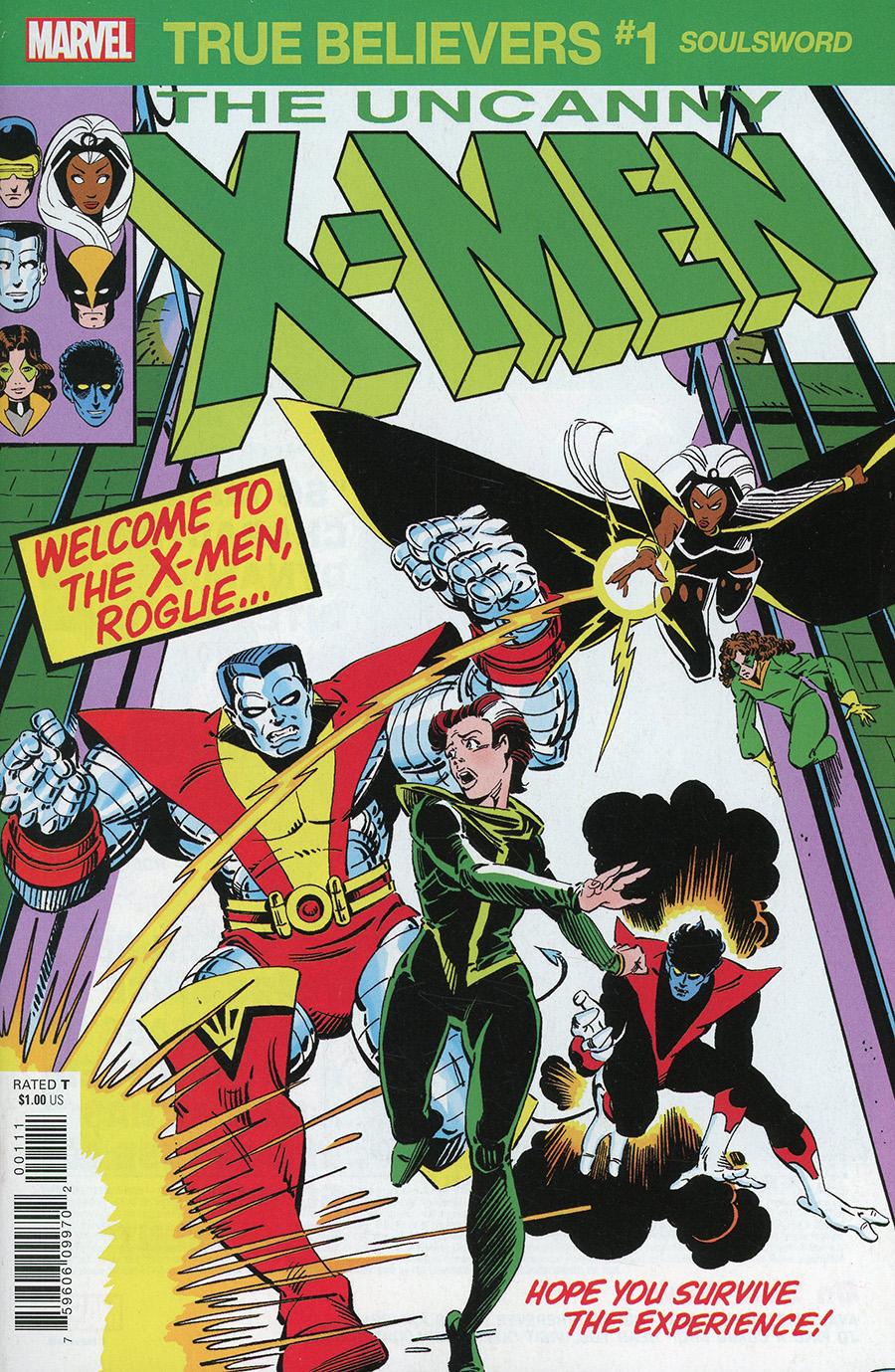 True Believers: X-Men - Souldsword #1