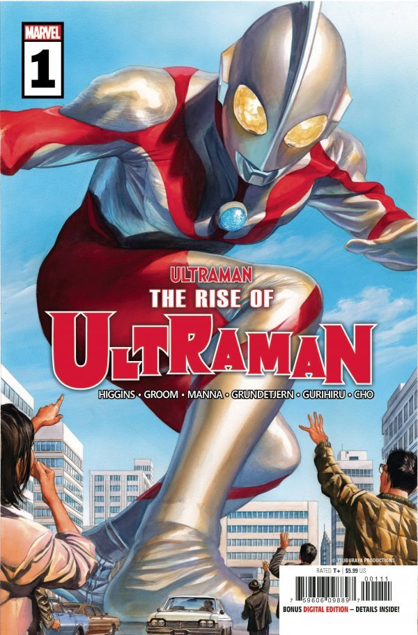 The Rise Of Ultraman #1 (2020)