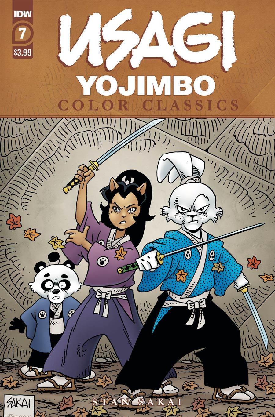 Usagi Yojimbo: Color Classics #7 (2020)
