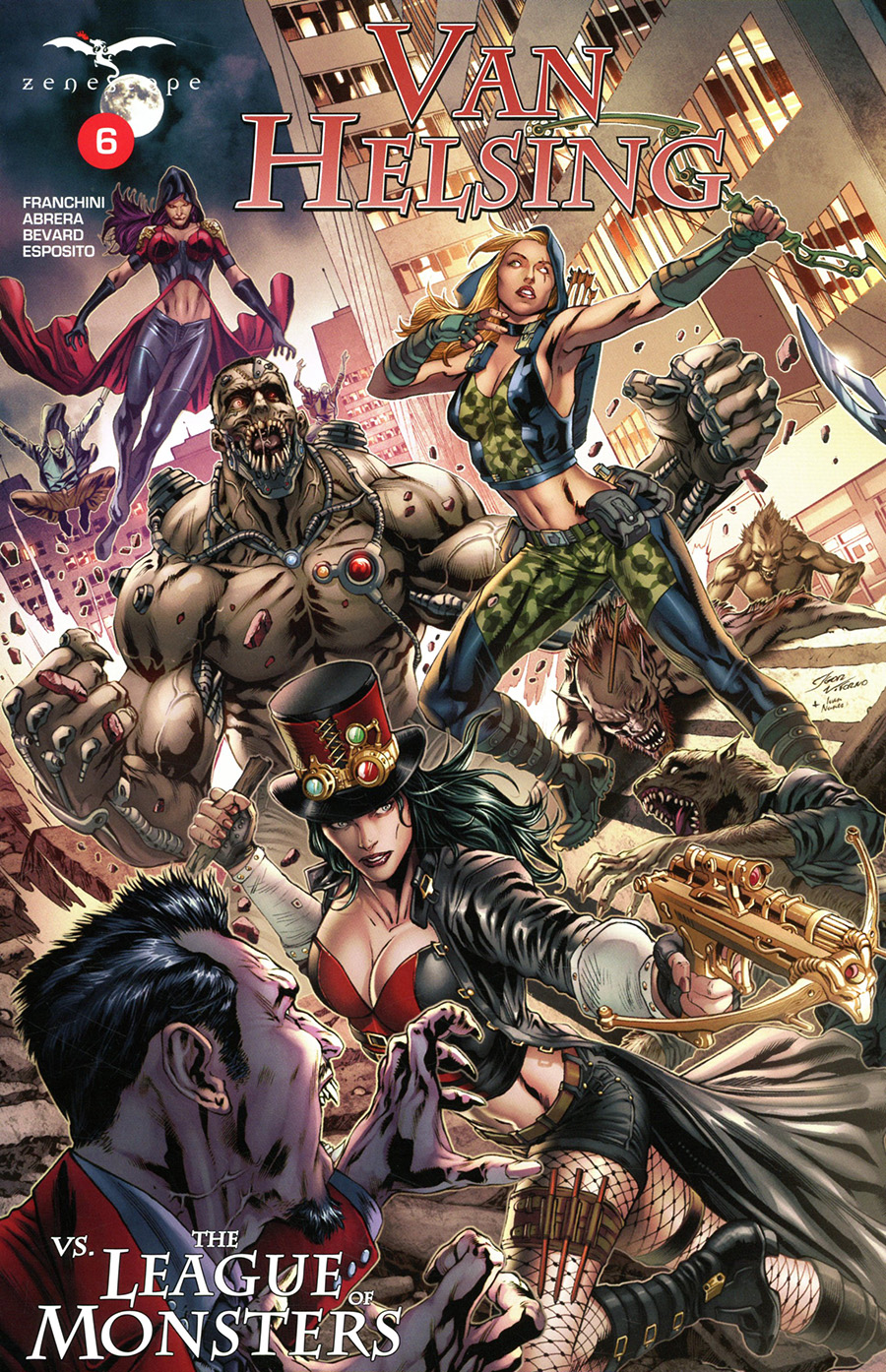 Van Helsing Vs The League of Monsters #6