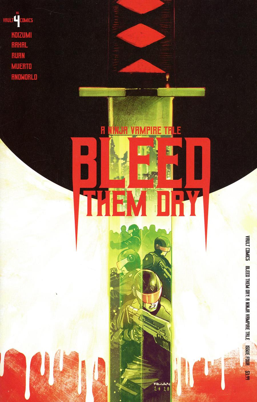 Bleed Them Dry #4 (2020)