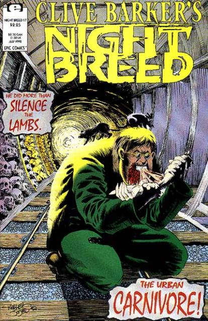Clive Barker's Night Breed #17 (1990)