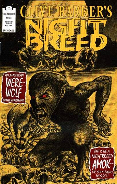 Clive Barker's Night Breed #18 (1990)