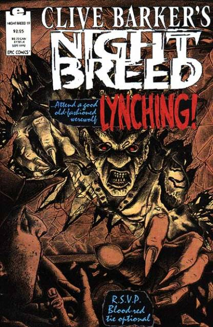 Clive Barker's Night Breed #19 (1990)