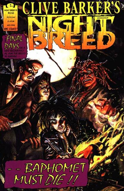 Clive Barker's Night Breed #21 (1990)