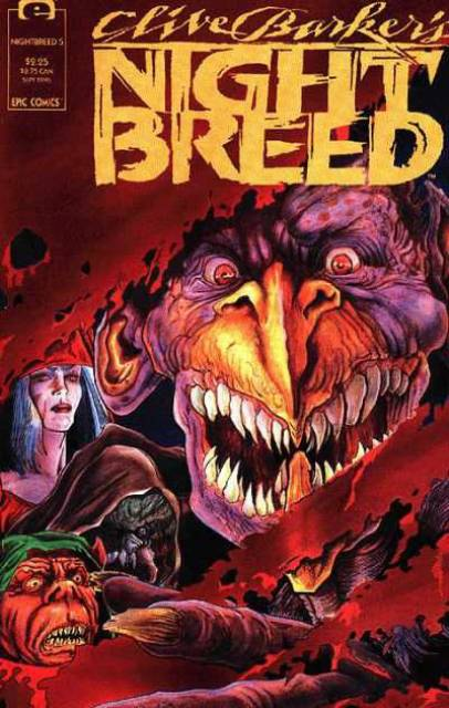 Clive Barker's Night Breed #5 (1990)