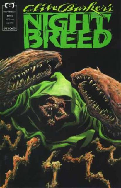 Clive Barker's Night Breed #7 (1990)