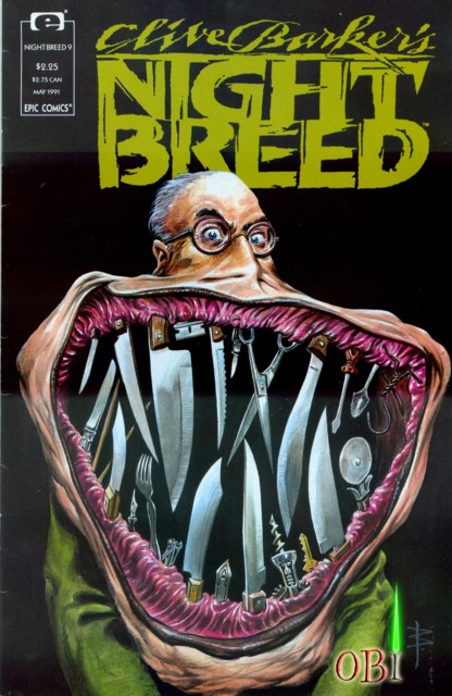 Clive Barker's Night Breed #9 (1991)
