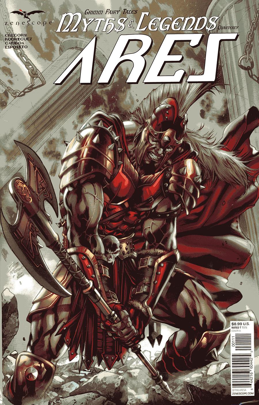 Myths & Legends Quarterly: Ares #1 (2020)