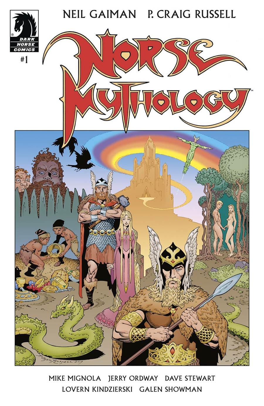 Neil Gaiman Norse Mythology #1 (2020)