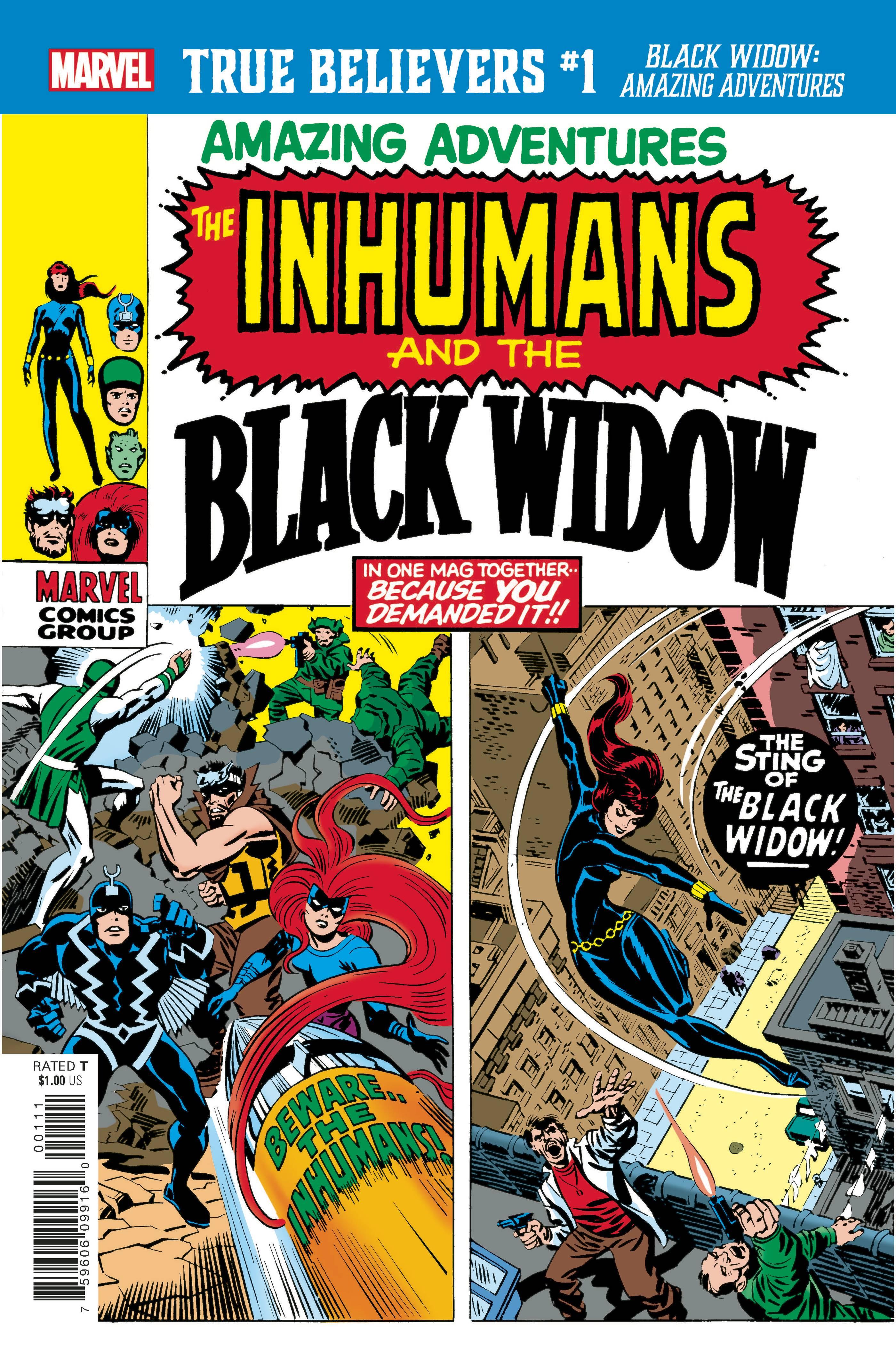 True Believers: Black Widow - Amazing Adventures #1 (2020)