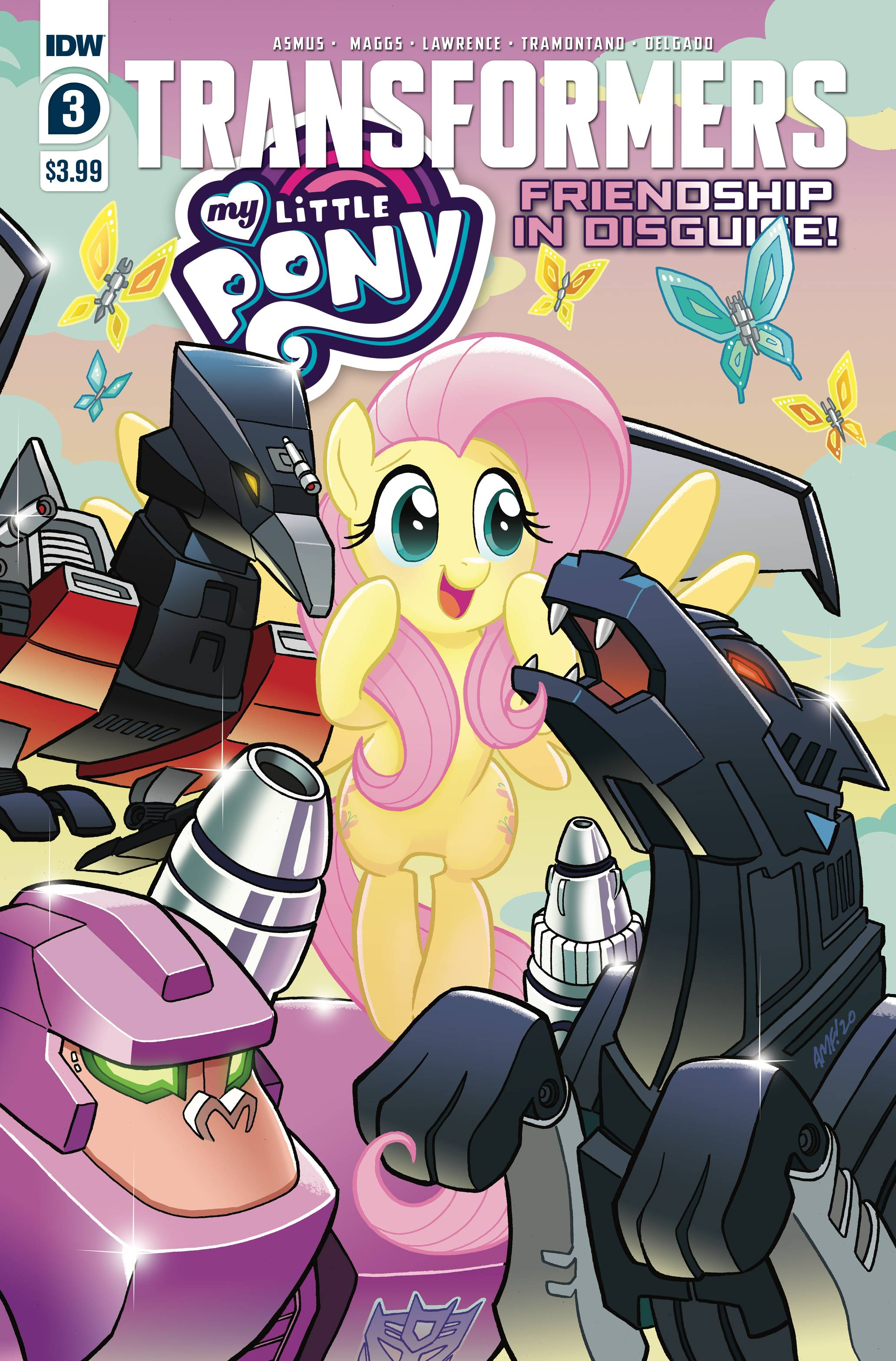Transformers/My Little Pony: Friendship in Disguise #3 (2020)