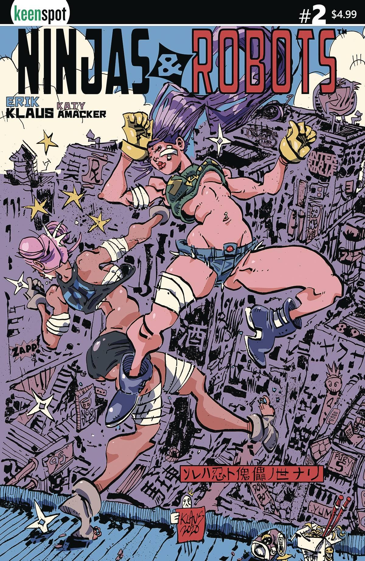 Ninjas & Robots #2 (2020)