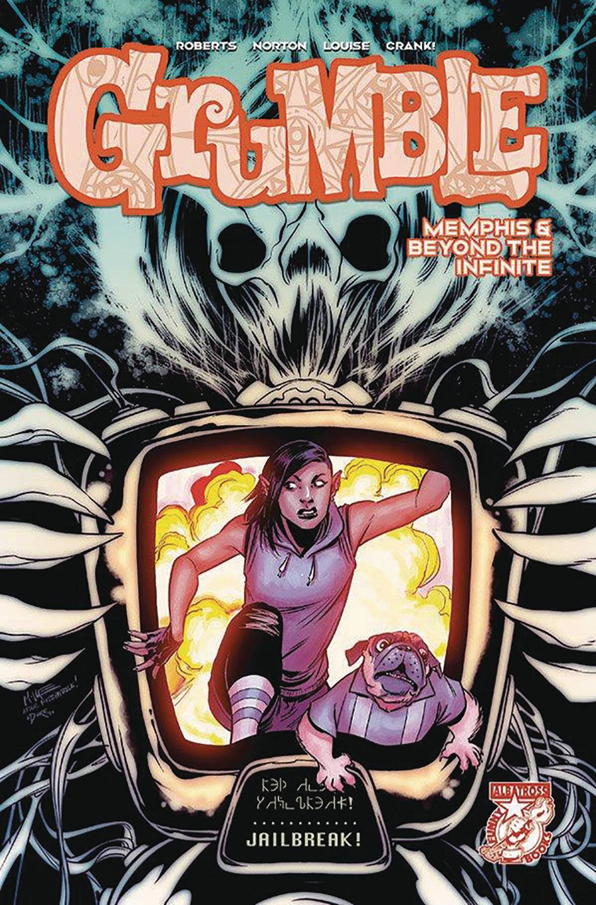 Grumble Memphis & Beyond The Infinite #4 (2020)