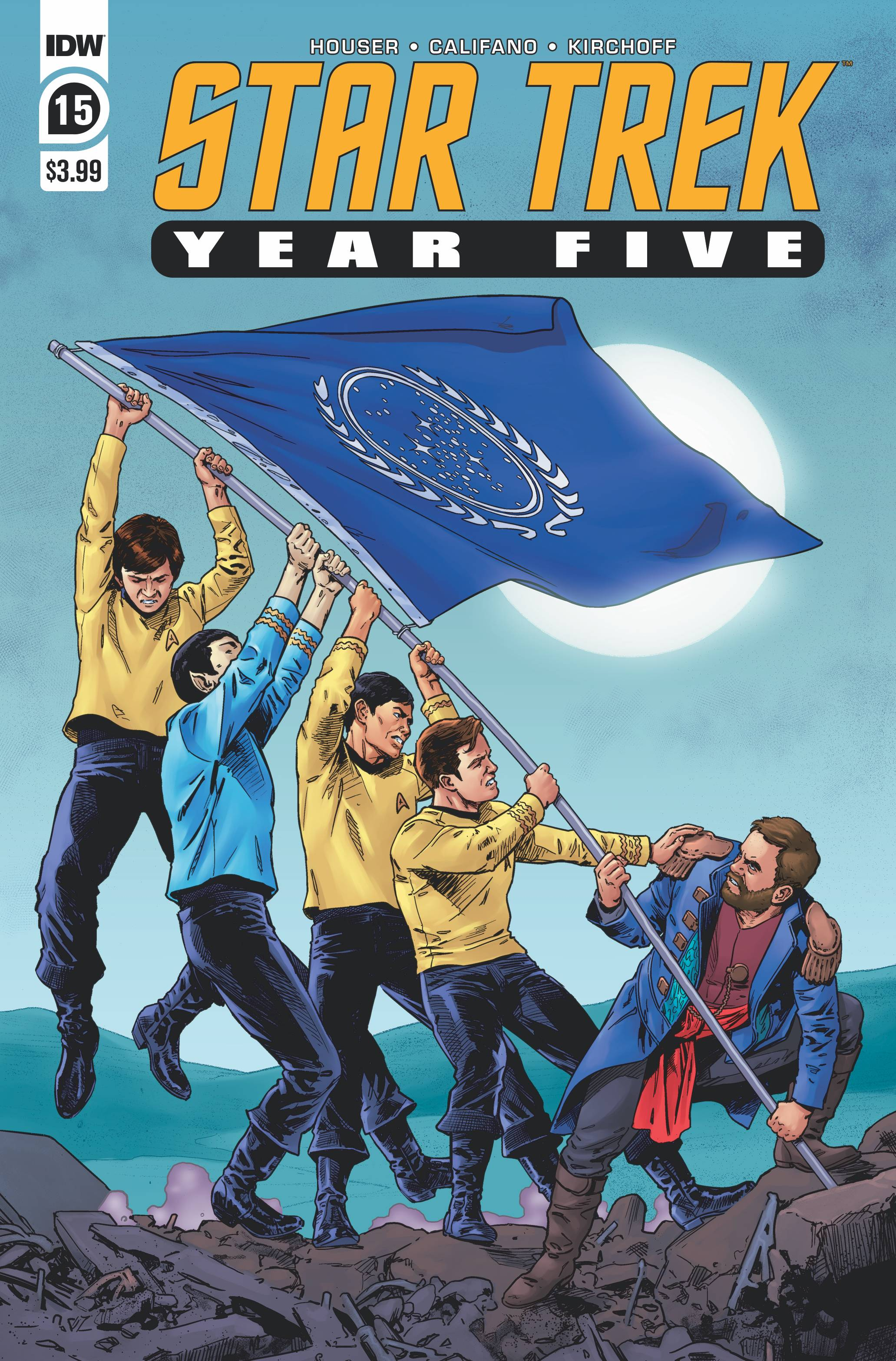 Star Trek: Year Five #15 (2020)