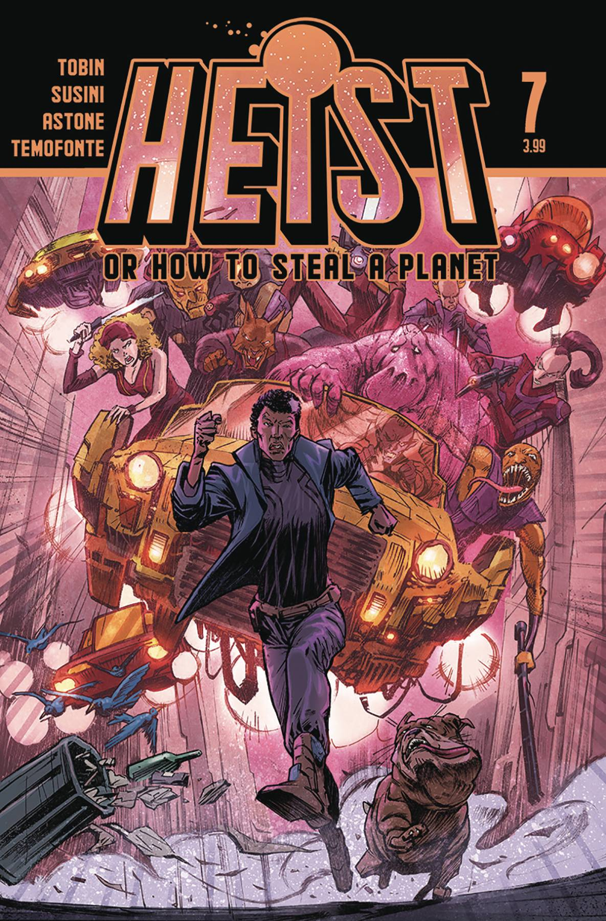 Heist: How To Steal A Planet #7 (2020)
