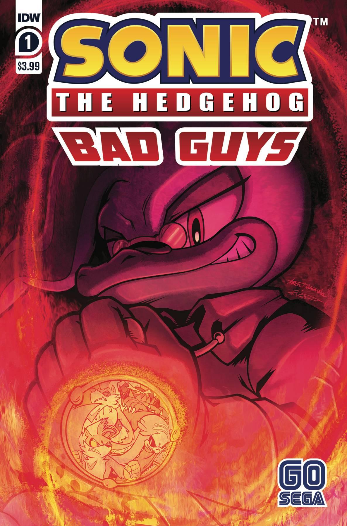 Sonic The Hedgehog: Bad Guys #1 (2020)
