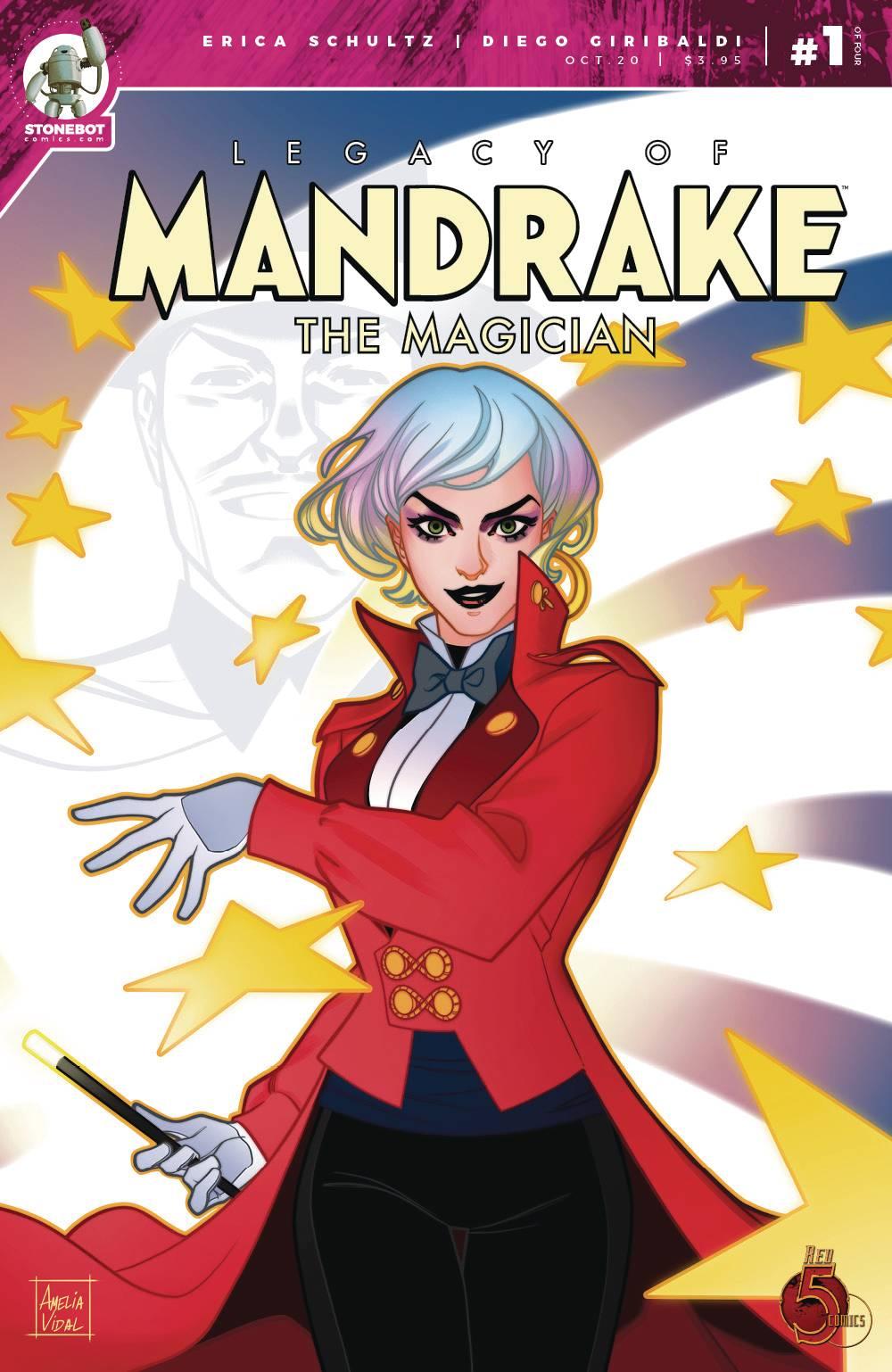 Legacy Of Mandrake The Magician #1 (2020)