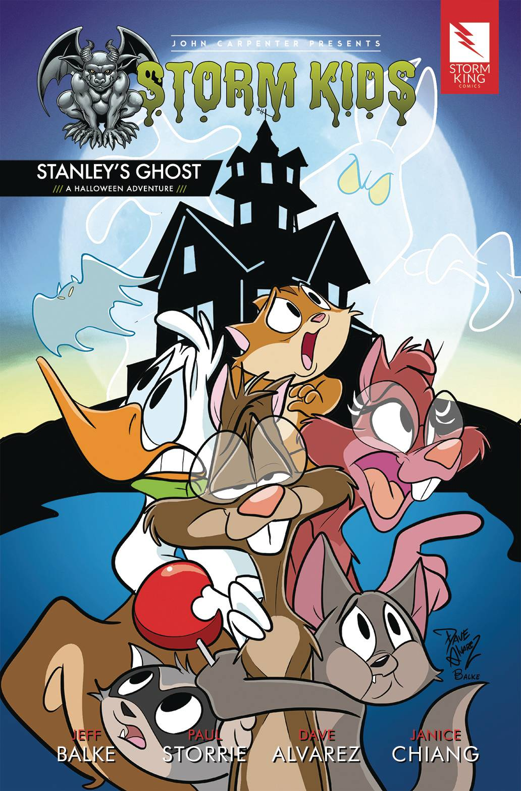 John Carpenter Presents Storm Kids: Stanley's Ghost #1 (2020)