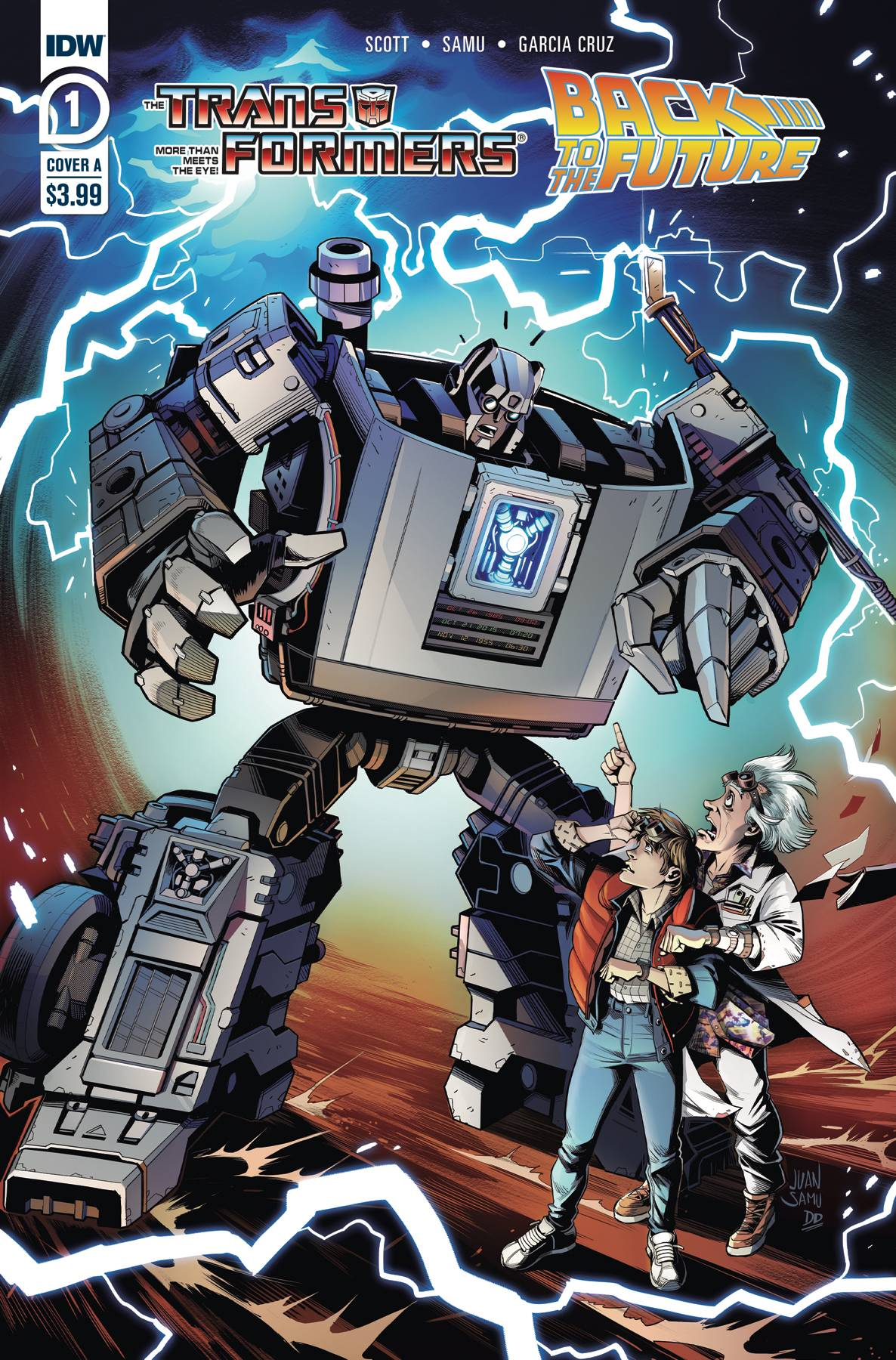 Transformers Back To Future #1 (2020)