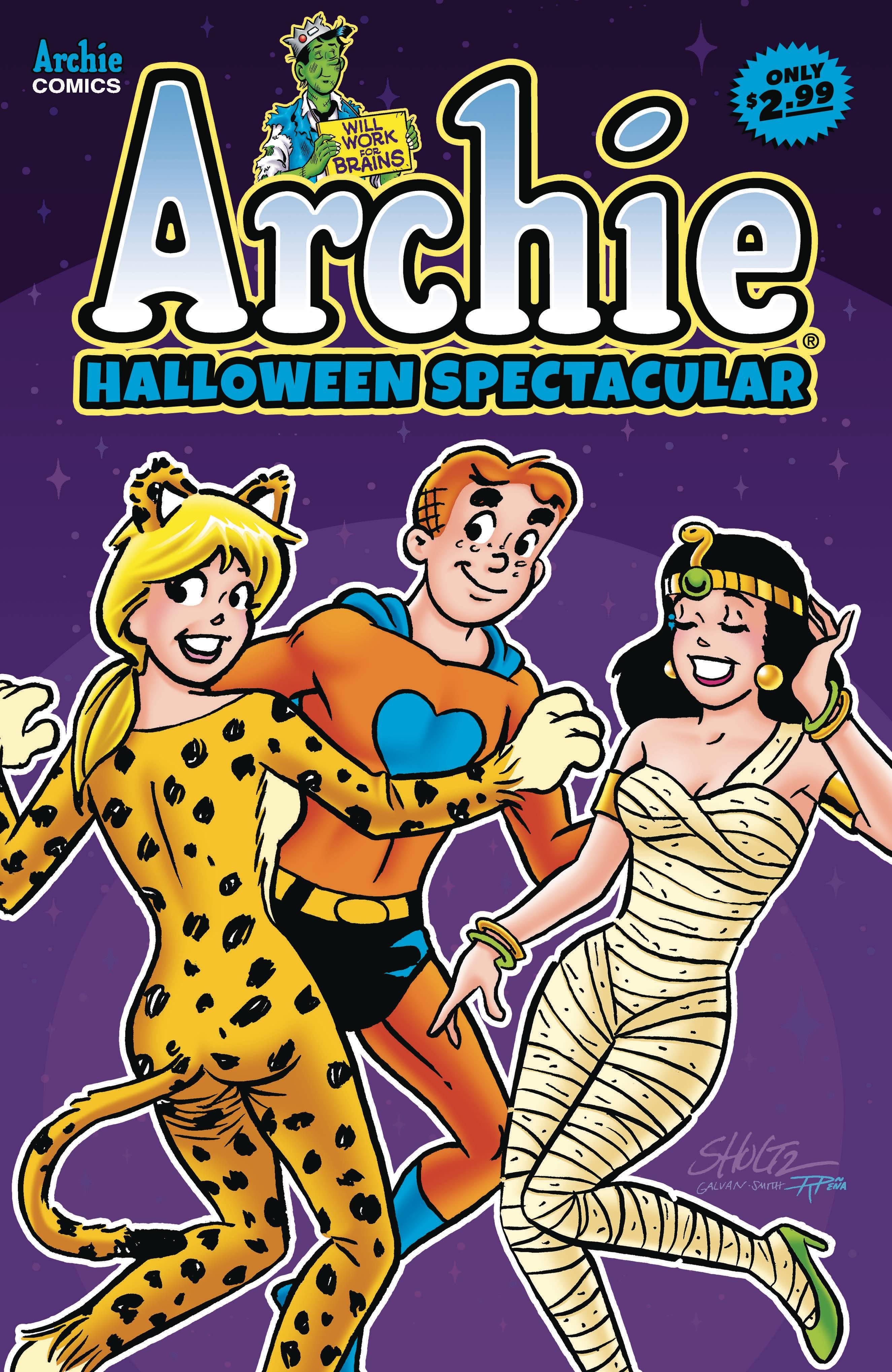 Archies Halloween Spectacular #1 (2020)