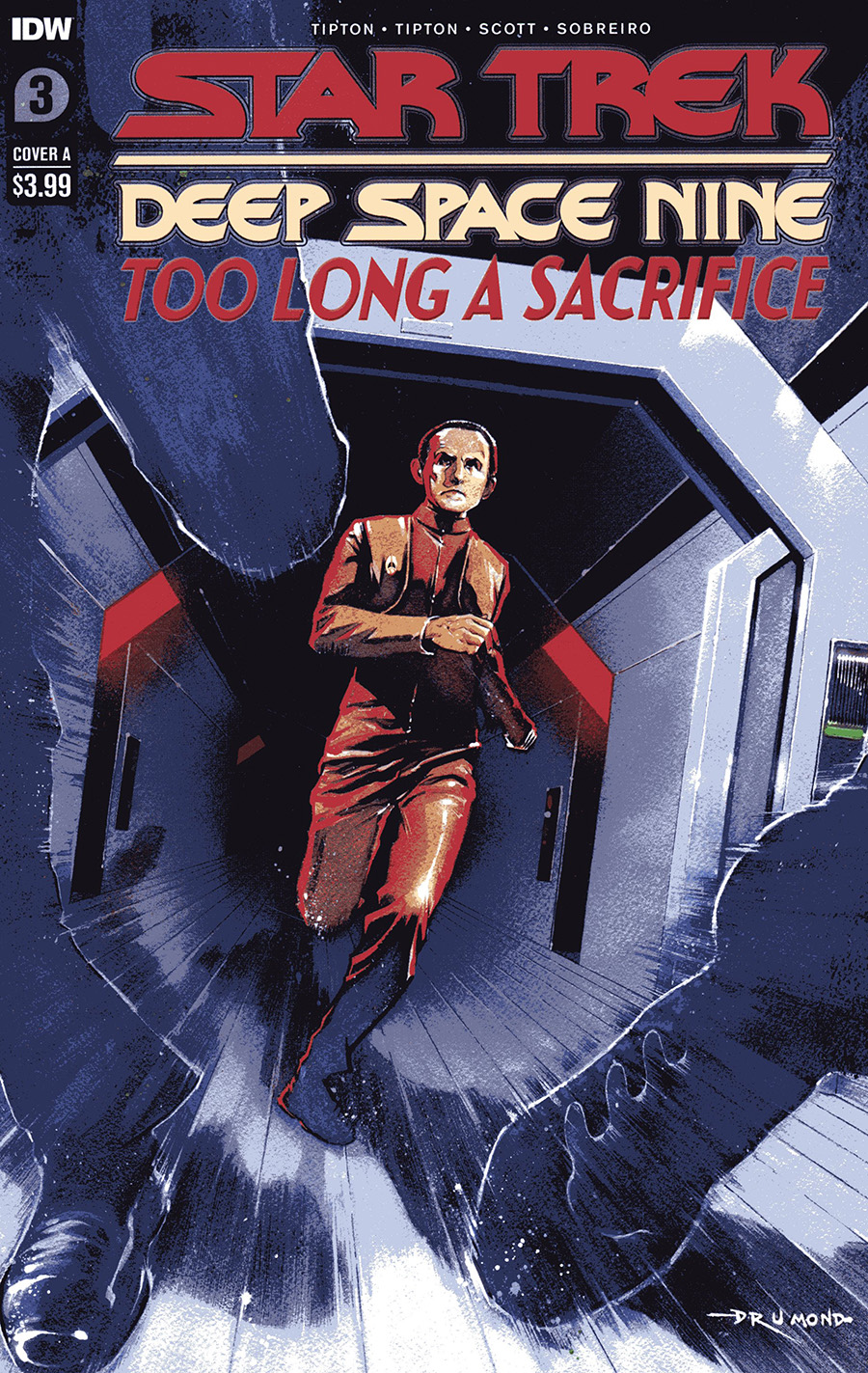 Star Trek: Deep Space Nine - Too Long A Sacrifice #3 (2020)