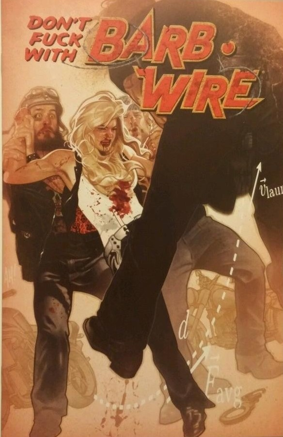 Barb Wire #1 (2015)