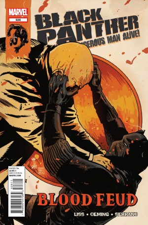 Black Panther: The Most Dangerous Man Alive #528 (2012)