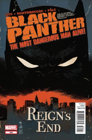 Black Panther: The Most Dangerous Man Alive #529 (2012)