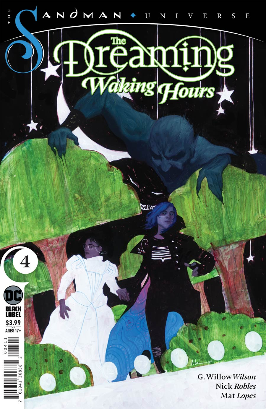 Dreaming Waking Hours #4 (2020)