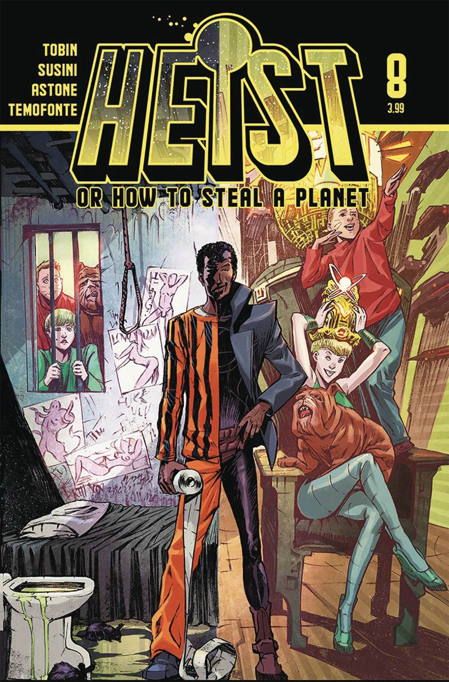 Heist: How To Steal A Planet #8 (2020)