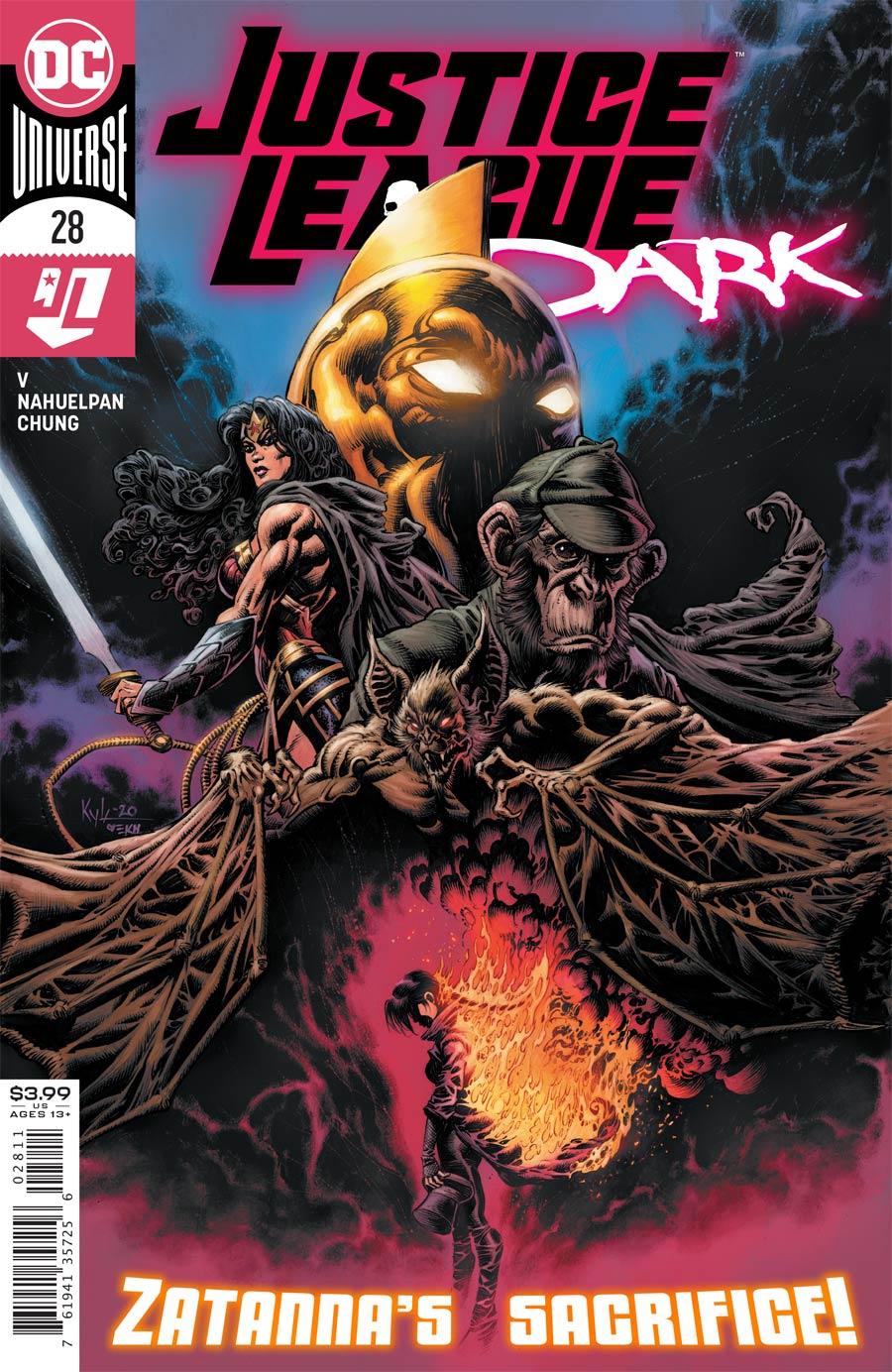 Justice League Dark #28