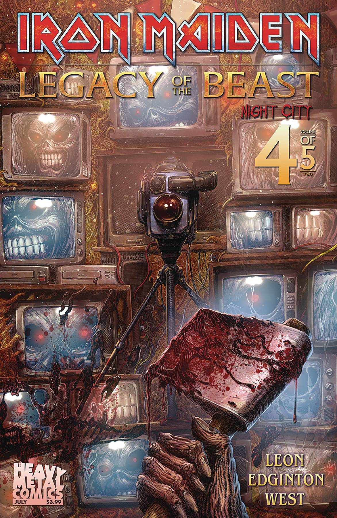 Iron Maiden: Legacy of the Beast Vol 2 - Night City #4 (2020)
