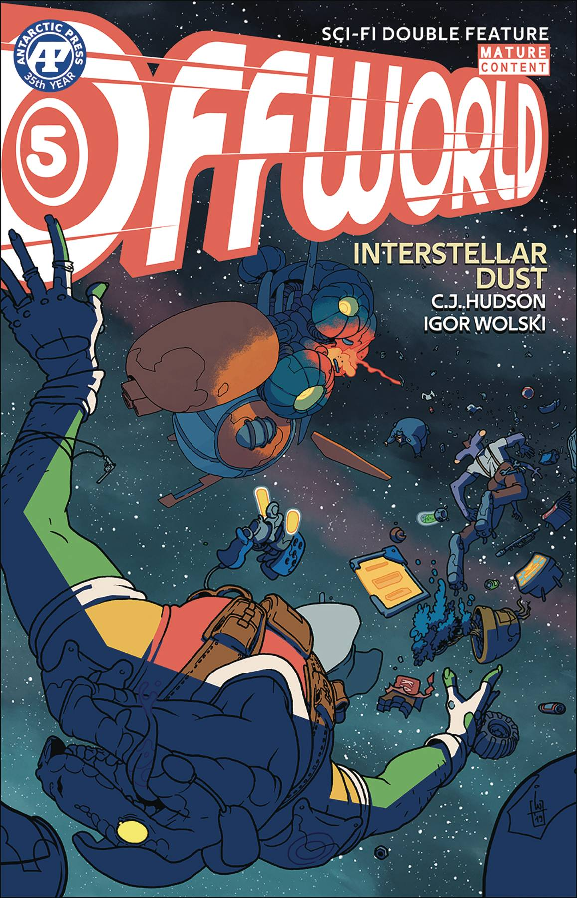 Offworld Sci Fi: Double Feature #5 (2020)