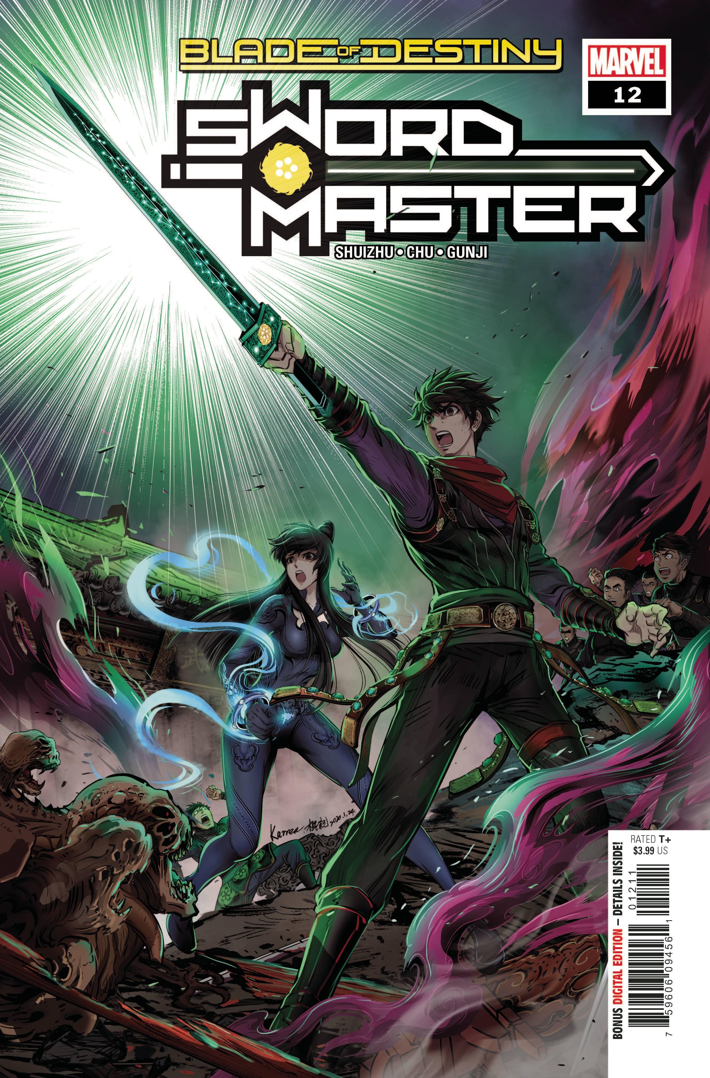Sword Master #12 (2020)